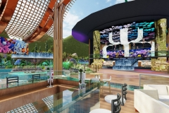 pool bar stage view